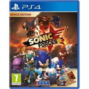 Sonic Forces [PS4/XO] £24.99 / Forza Motorsport 7 £36.99 Preorder @ Smyths C&C