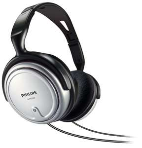 Philips SHP2500/10 Indoor Corded TV Headphone (Over-Ear for Music/PC/TV) - Gray, £7.02 amazon warehouse deals