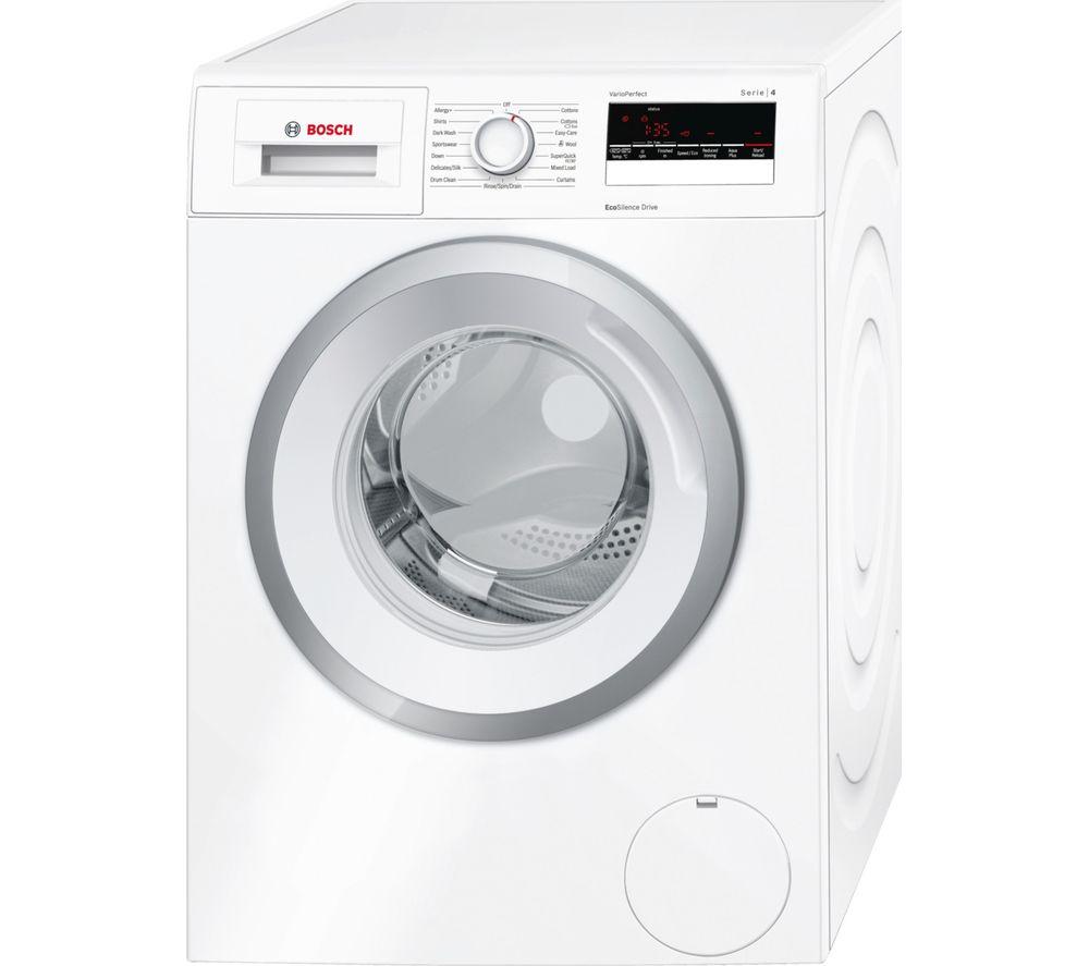 Bosch Serie 4 WAN28080GB Washing Machine  7KG White A+++ £264.01 delivered - Bosch Serie 4 WAN28280GB 8KG 1400 Spin Washing Machine White A+++ £314.01 delivered @ Currys (plus 2 Year Guarantee)