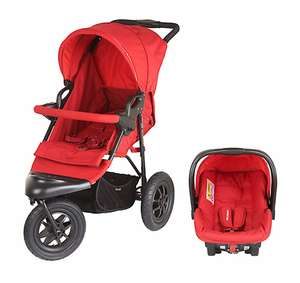 Mothercare Xtreme Pushchair Travel System Red (was £270) now £99 @ Mothercare