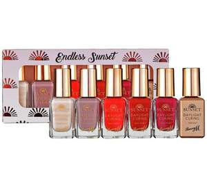 Barry M Cosmetics Sunset Nail Beauty Set - 6 Pack @ Argos - £7.99