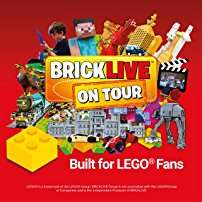 For all LEGO  fans Brick Live VIP TICKETS £26.25 instead of 35+3(booking fee) from Amazon TICKETS