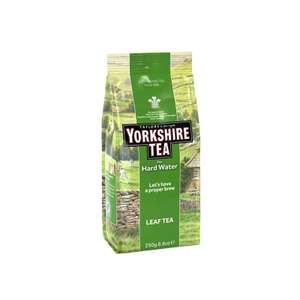 Yorkshire loose leaf hard water tea £1.49 at poundstretcher