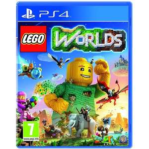 LEGO Worlds (PS4) £14.99 Delivered @ MyMemory
