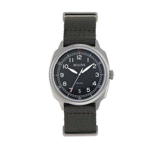 Bulova Men's UHF Military Watch 96B229 £57.99 @ Argos