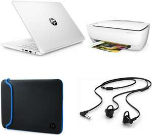 "HP  14-bp059sa 14"" Laptop, Printer, Accessories Bundle £249.99 Free Delivery @ Currys Online"