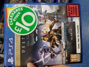 Destiny PS4 Legendary edition @ Smyths Grimsby store - £10