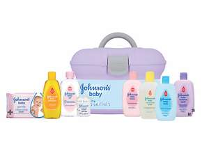Johnson's Baby Skincare Essentials Gift Box £12 @ Mothercare (Free C&C)