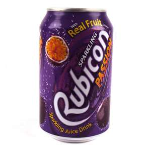 Rubicon Passion fruit drink 330mlx4 £1 @ Poundworld in store