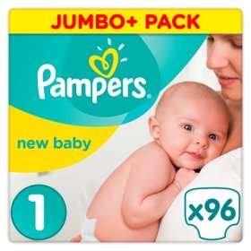 Baby week Asda - e.g Pampers baby size 96pk £8.00 / Pampers Baby Wipes 12 x 50 & 56 £7 And many more items.