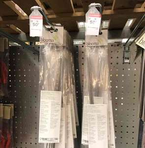 BBQ metal kebab skewers reduced to 50p B&Q