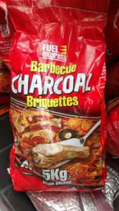 5kg Charcoal, Briquettes and Lumpwood, instore only, Home Bargains, £2.99