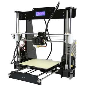 Anet A8 Desktop 3D Printer Prusa i3 DIY Kit £115.83 *now £114.66 @ Gearbest