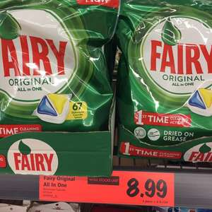 Fairy Dishwasher Tablets - £8.99 or 13p each @ Lidl