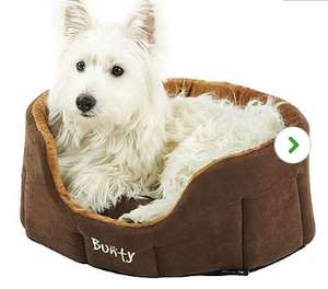 Bunty Brown Lounger Dog Bed (Small) £4 @ Dunelm Mill