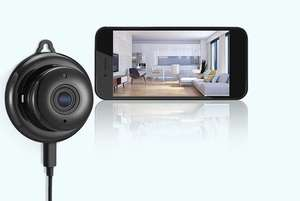 App Controlled Wi-Fi Home Security Camera £27 + £5.99 del @ Wowcher