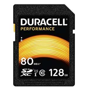 128gb SDXC card Duracell £38.78 - Duracell Direct