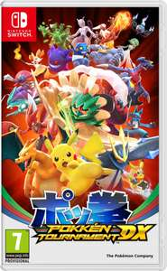 Pokken Tournament DX (Nintendo Switch) £37 - Tesco Direct w/ Code -TDX-VPKP)