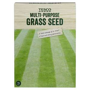 Multi-Purpose Grass Seed 1Kg for £1.25 instore @ Tesco (national)