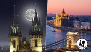 Prague & Budapest break in January - £189pp - Flights from MCR @ Go Groupie