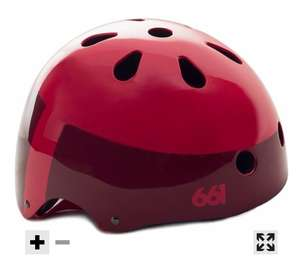661 Dirt Lid 2017 Helmet in Grey or Red now £7.99 + £2.99 Del (£10.98)  - Free del over £9 @ CRC
