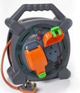 Weatherproof 2 Socket 20M 13amp Cable Reel  £15.00 @ Wilko in-store