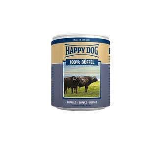 "Happy Dog Wet Dog Food Pure Tinned Buffalo, 800 g, Pack of 6, £6.08 (Prime), £10.03 (Non-Prime) @ Amazon ""Temporarily Out Of Stock"""