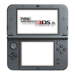 New Nintendo 3DS XL Metallic Black Console £154.99 @ Tesco
