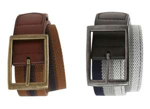 Men's 2 in 1 Reversible Belts only £4 @ George (Free C&C)
