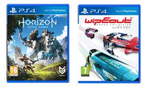 Horizon Zero Dawn £24.99 / WipEout Omega Collection £14.99 / Tekken 7 XBOX/ PS4 £32.99 @ Game