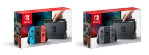 Nintendo Switch - Neon Red/Neon Blue / Grey £259.99 @ Game / Amazon