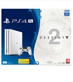 PS4 Pro Destiny 2 Game and Expansion Pass Bundle with Uncharted 4: The Lost Legacy and NOW TV  £349.99  Game