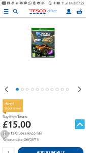 Rocket League Collector's Edition Xbox One £15 Del @ Tesco Direct