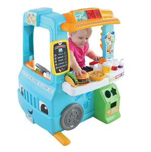 Fisher-Price Laugh & Learn Servin' Up Fun Food Truck (was £84.99) Now £63.99 @ Very