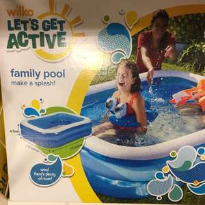 Family pool £3.75 instore @ Wilko