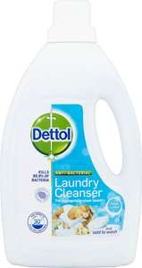 Dettol Laundry Cleanser Fresh Cotton (1.5L) £3 down from £4.48 @ Morrisons