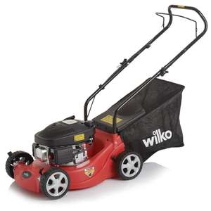 Wilko petrol lawn mower 2 year guarantee £40 Instore only. Reduced more!