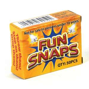 500 Party Fun Snaps Throw Bangers (10 boxes) £1.70 free delivery eBay /  iclick-isave
