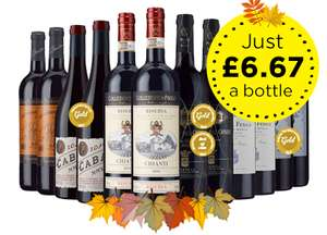 Save £44 | Case of 12 – £79.99 | (£6.67/btl) @ Laithwates