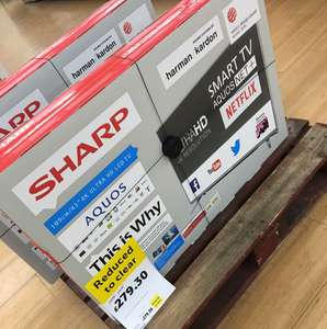 Sharp 43 Inch 4K Smart TV £279.30 in Tesco - Romford