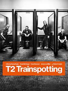 Amazon Video and iTunes - T2 Trainspotting HD rental 99p