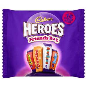Heroes 16 Bar 'Friends' Bag £1.00 at Farmfoods