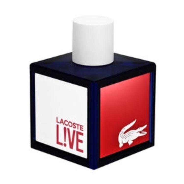 Lacoste live 100ml Eau de toilette spray £20.30 with code @ Fragrance direct