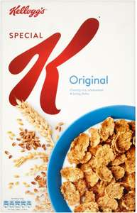 Kellogg's Special K (500g) was £2.99 now £1.49 @ Waitrose