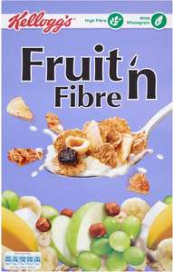 Kellogg's Fruit 'n Fibre (750g) was £2.50 now £2.00 @ Iceland