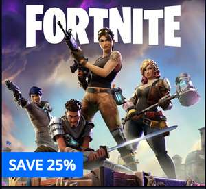 [PS4] Fortnite 25% off Standard (£24.74) and Deluxe (£37.49) packs on PSN store