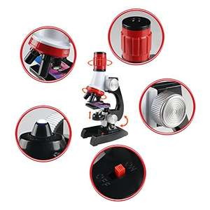 Kids Microscope - £9.99 (Prime / + £3.99 delivery non Prime / Promo message: buy one to get £5 off) - Sold by YIXIN SHOP and Fulfilled by Amazon