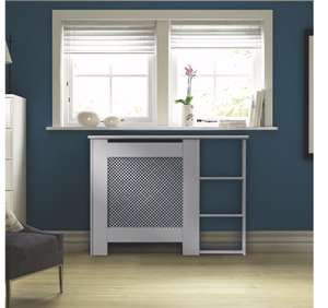 B&Q Radiator cover clearance deal !! - mayfair mini white painted end shelf radiator cover £25