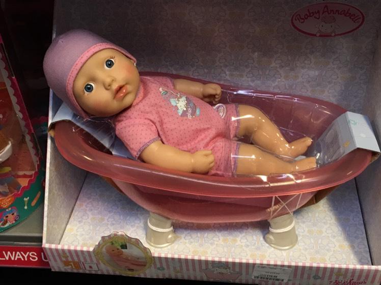 Baby annabell £16.99 tkmaxx