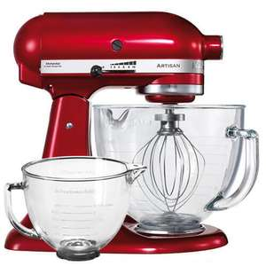 KitchenAid Artisan Candy Apple Stand Mixer With FREE Extra Bowl £329 Free Delivery Harts of Stur